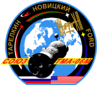 Soyuz TMA-06M Mission Insignia Decal